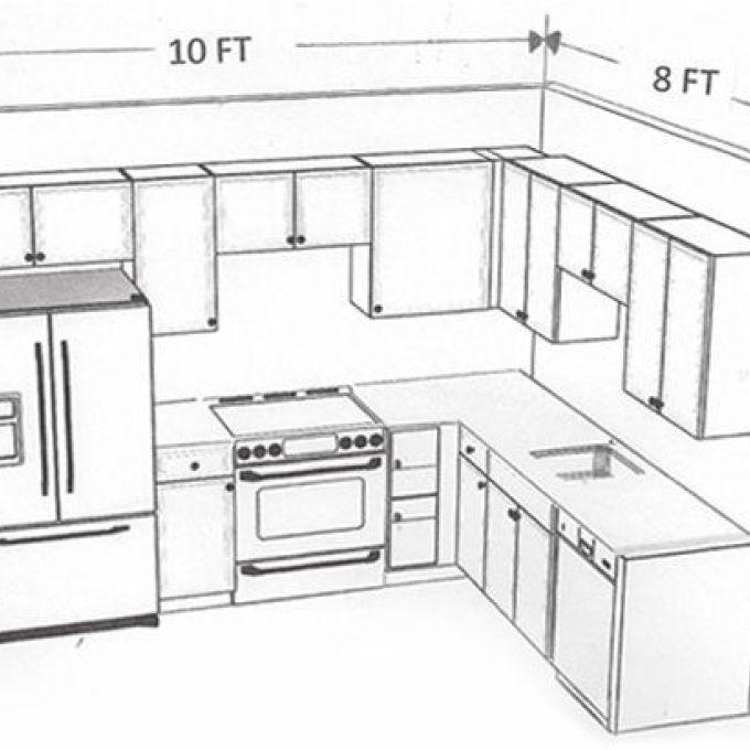 13 Kitchen Design Layout 8 X 10 Superb 10x10 Kitchen