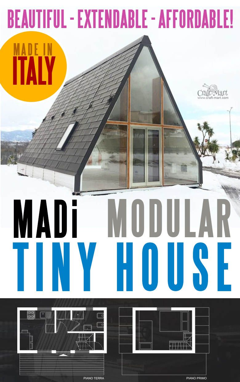 Prefab Tiny Houses Can Be Awesome and Beautiful (MADi Homes & Avrame review #tinyhomes