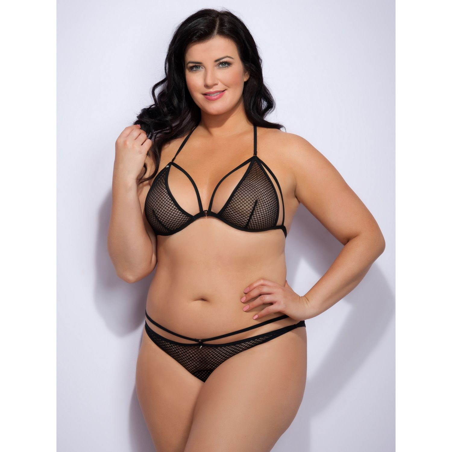 9bab4b6be4653 First Look at Love Honey Lingerie in Plus