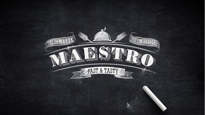 MaestroPizza - The Dieline -