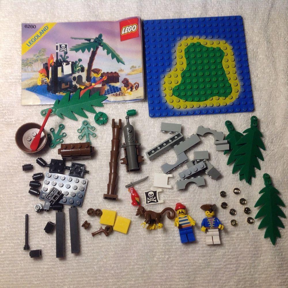 Lego Shipwreck Island Pirate Set 6260 100 My Lost Legos