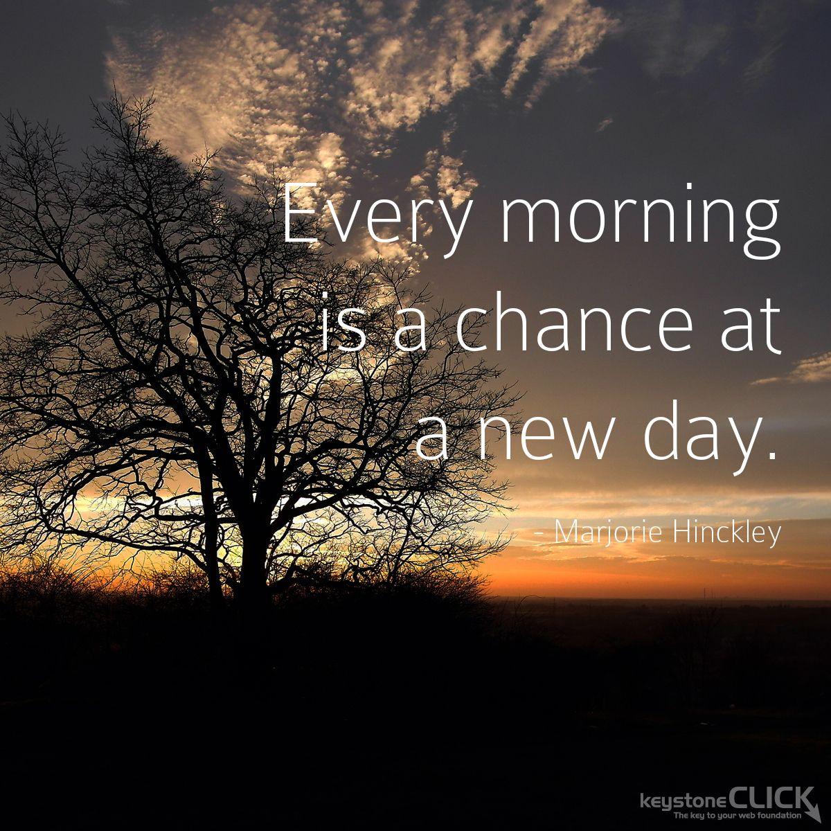 Every Morning Is A Chance At A New Day Inspirational Quotes Digital Marketing Digital Marketing Agency Digital