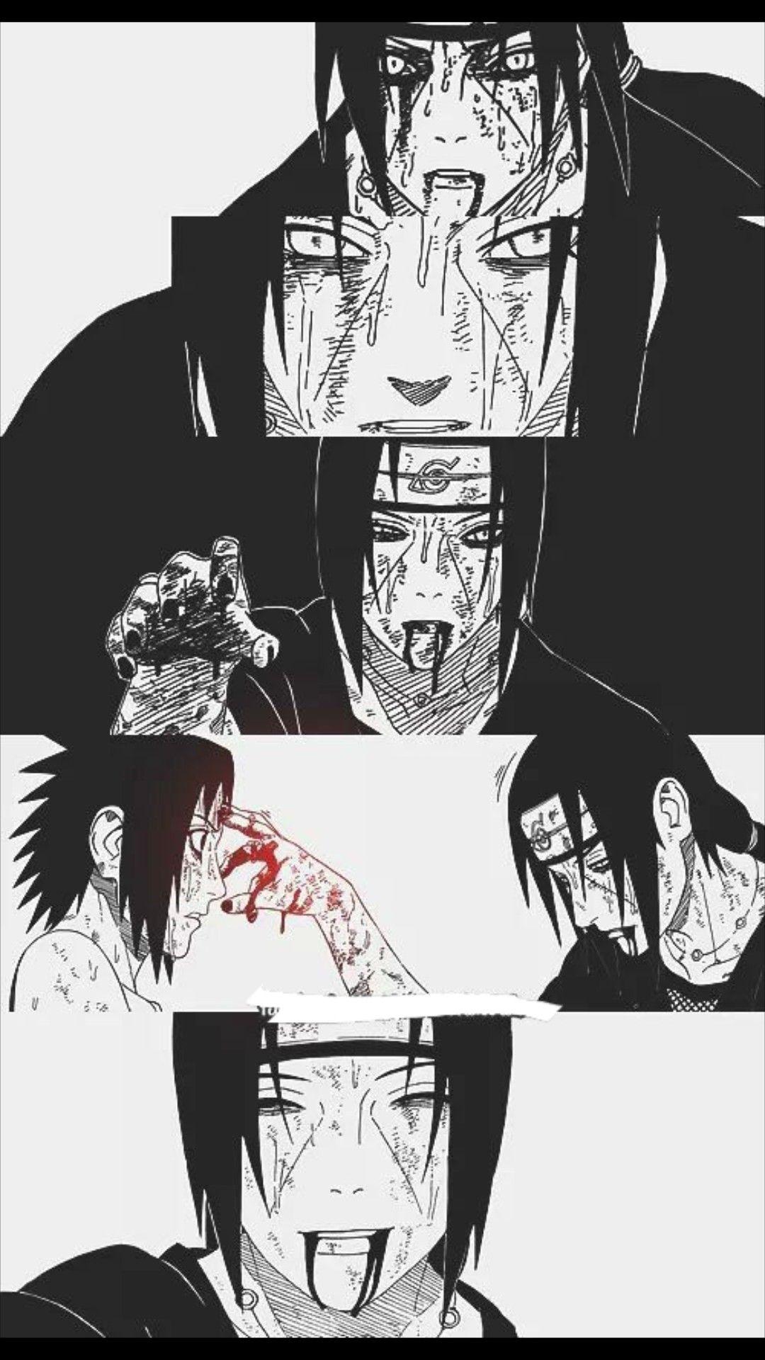 Pin De Anastasiya Em Uchiha Itachi Sasuke E Itachi Naruto