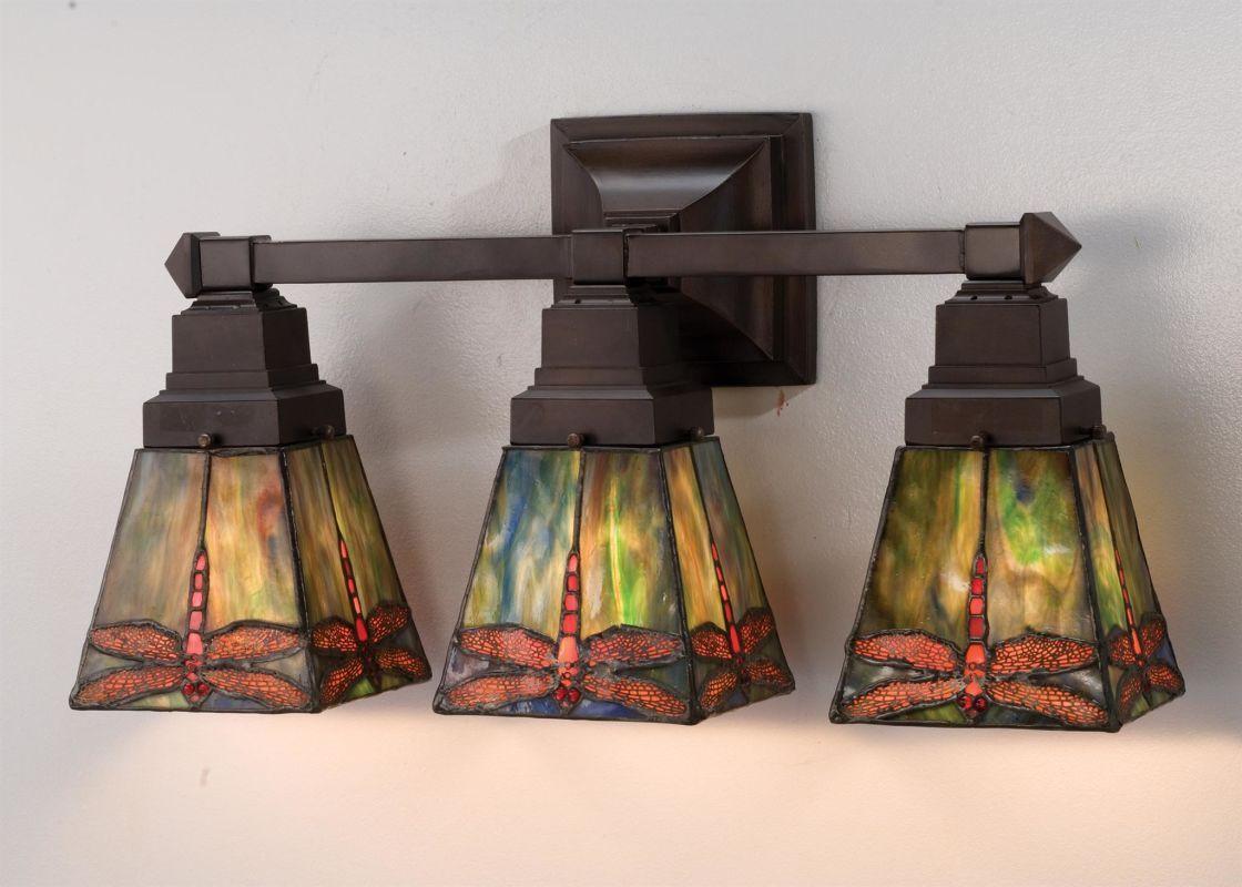 Meyda Tiffany 48036 Vanity Lighting Tiffany Glass Bathroom