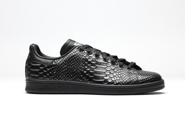 Best Drop Shipping Adidas Stan Smith Couple Skateboard shoes White black[BA8468]