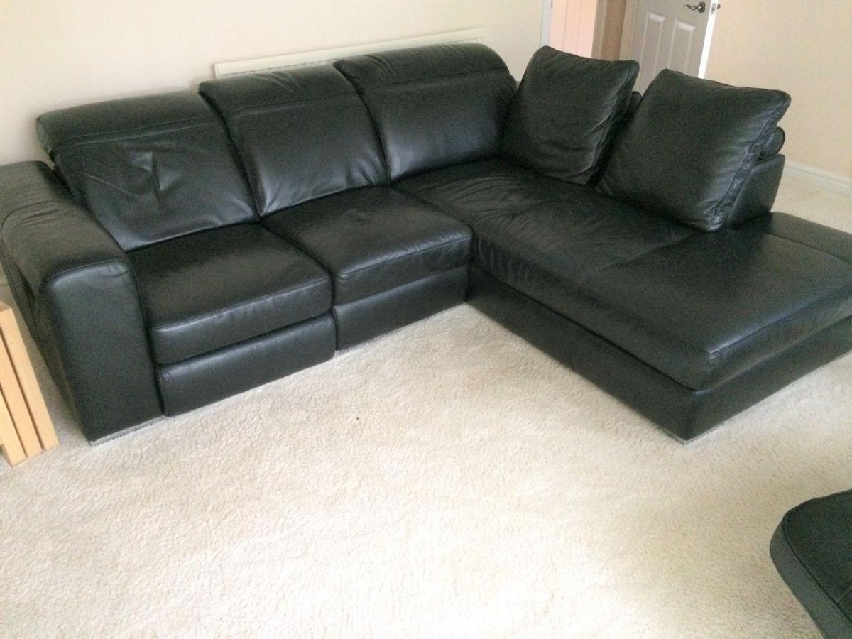Leather Corner Sofa At Furniture Village Di 2020