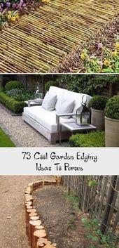 73 Cool Garden Edging Ideas To Pursue  Pinokyo#nailsaddict #nail2inspire #nailso...#cool #edging #garden #ideas #nail2inspire #nailso #pinokyonailsaddict #pursue