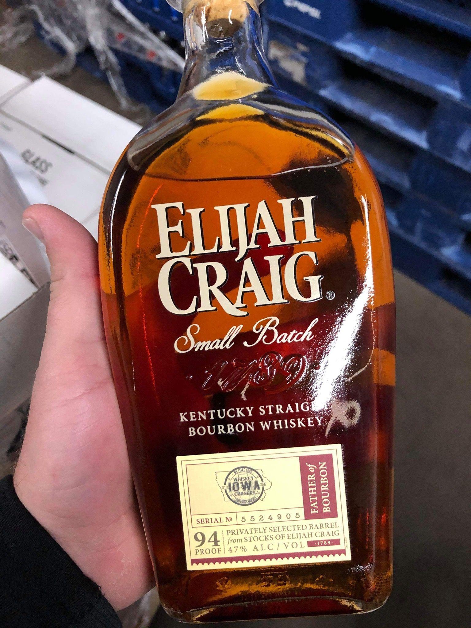 Elijah Craig Kentucky Bourbon Bourbon Bourbon Whiskey Whiskey