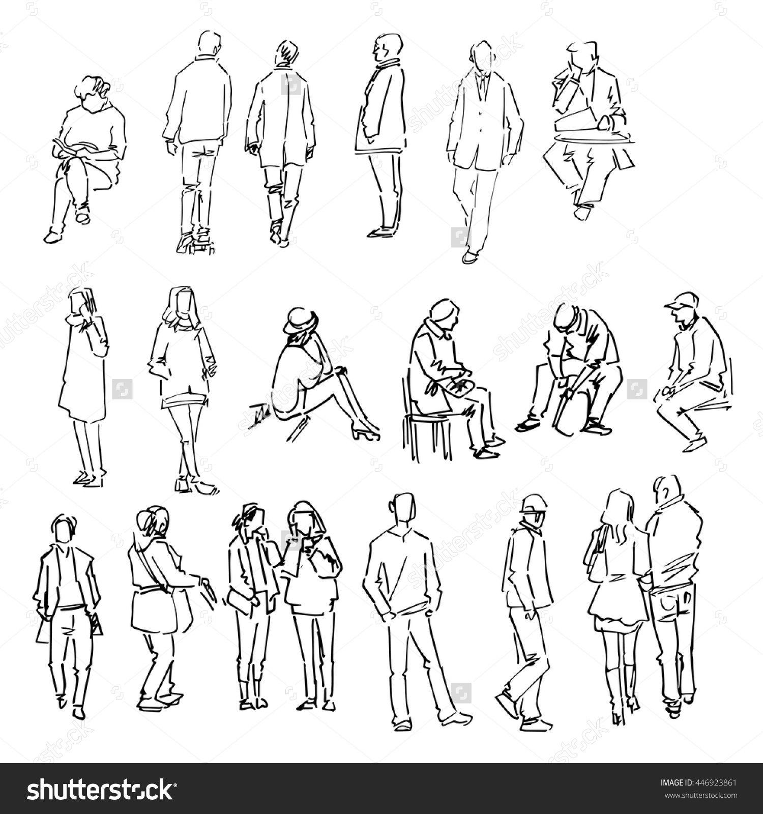 U00c9pinglu00e9 Par Franu00e7oise65 Sur Croquis   Drawing People Draw Et Sketches Of People