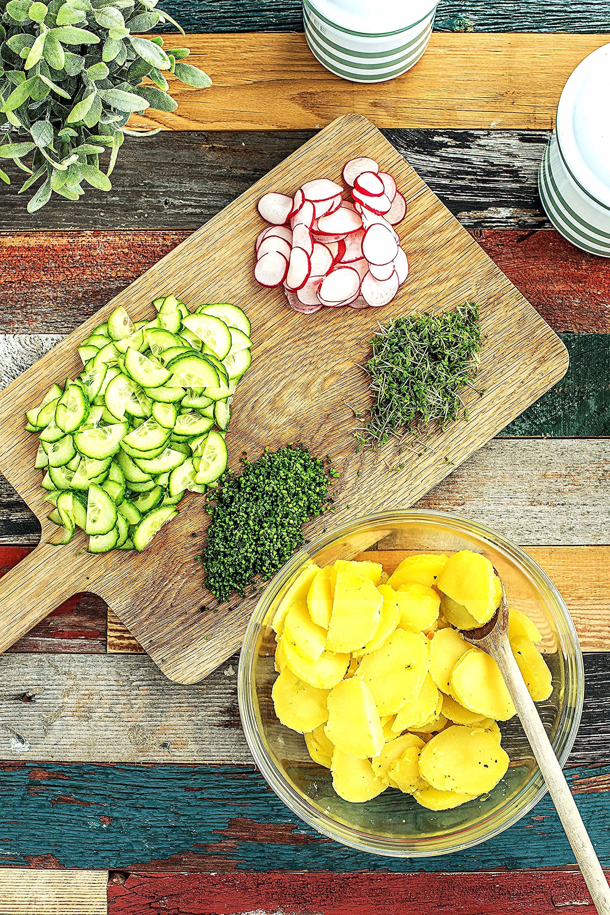 Unsere Frischen Salate Zum Grillen Avocado Salades