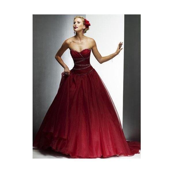 Vestido De Fiesta De 15 A Os Color Rojo Vestidos De Fiesta | XV ...