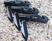Personalized Pocket Knife, Engraved Folding Hunting Knife, Groomsmen Gift, Best Man Gift, Custom Knife, Rescue Knife, Wedding Favors