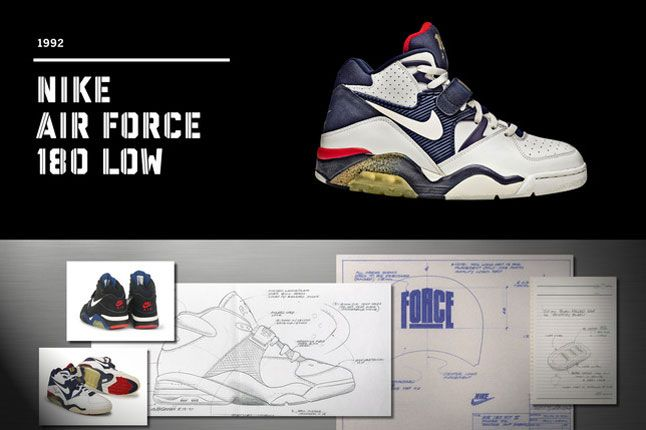 THE MAKING OF THE NIKE AIR FORCE 180 LOW | Pub | Zapatillas