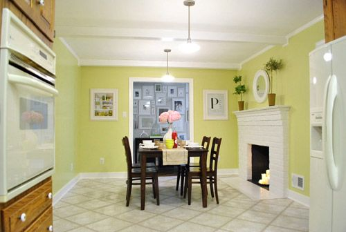 Painted Wood Paneling - Woot. It\'s Done | Paint wood paneling ...
