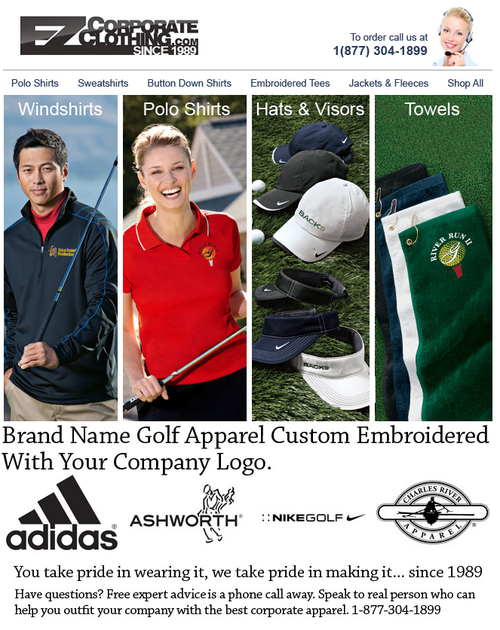 Email Marketing win by EZ Corporate Clothing. #email #openmoves  http://www.openmoves.com/portfolio/