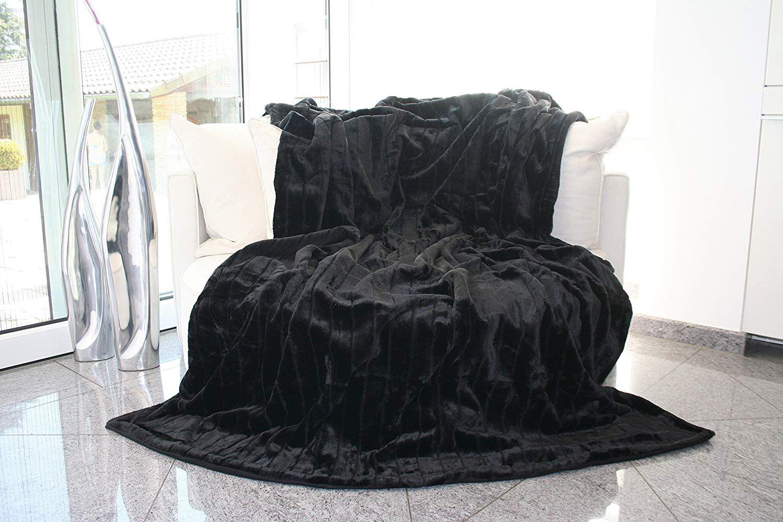 Felldecke Hochwertige Kuscheldecke Decke Wohndecke Nerzdecke Plaid Webpelzdecke Tagesdecke Schwarz Amazon Tagesdecke Schwarz Tagesdecke Kuscheldecke