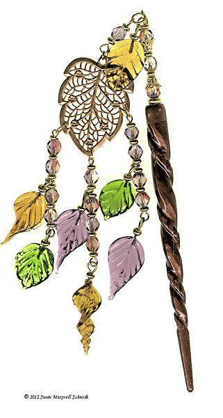 Weeping Katsura Japanese Hair Ornament Hair Ornaments Hair Pins Hair Sticks