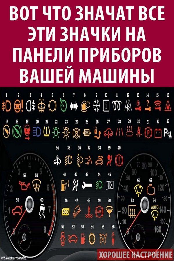 #лайфхаки #советы #вождение #автомобиль #ошибки #панель #приборов #диагностика