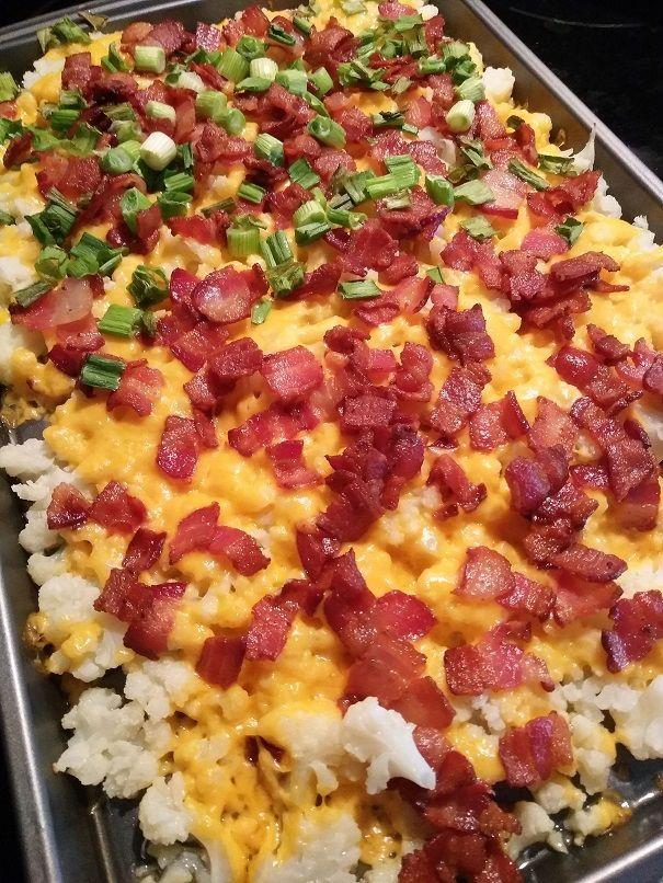Photo of Loaded Cauliflower Recipe – Crafty Morning