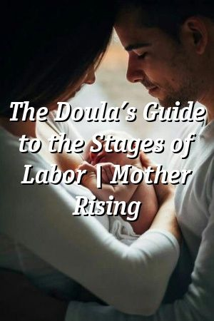 Heather Hemmings The Doula's Guide to the Stages of Labor ...