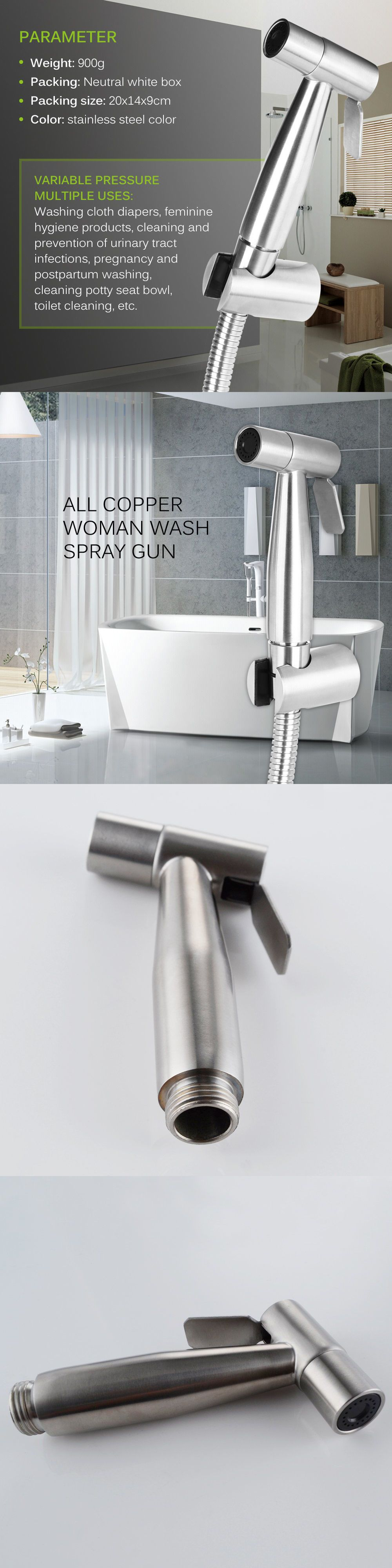 Bidets And Toilet Attachments 101405 Toilet Handheld Stainless