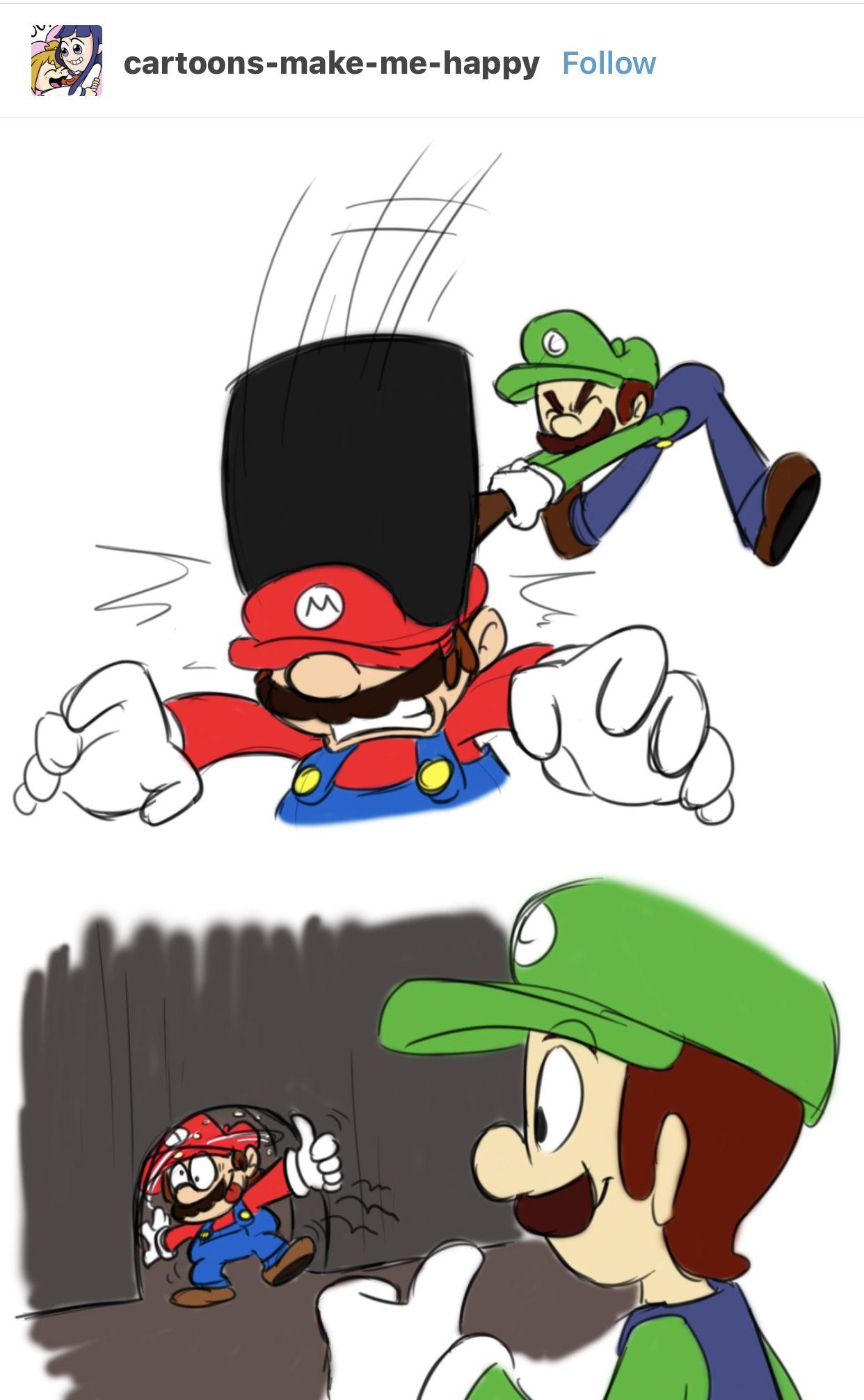 Mario And Luigi Series In A Nutshell Super Mario Art Mario Bros Mario And Luigi