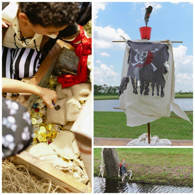 Pirate Themed Decorating Ideas Part - 40: Pirate Party Decor