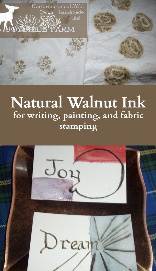 Natural Walnut Ink For Writing Painting And Fabric Stamping