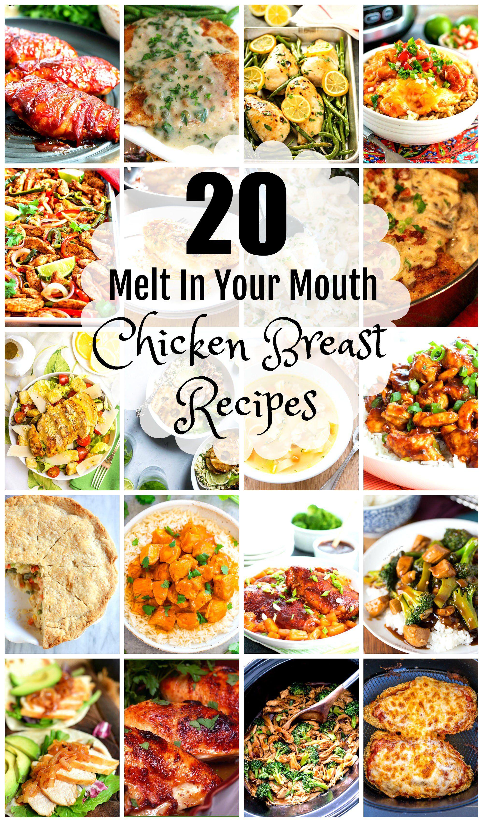 20 Melt-In-Your-Mouth Chicken Breast Recipes | MSSK Allstar