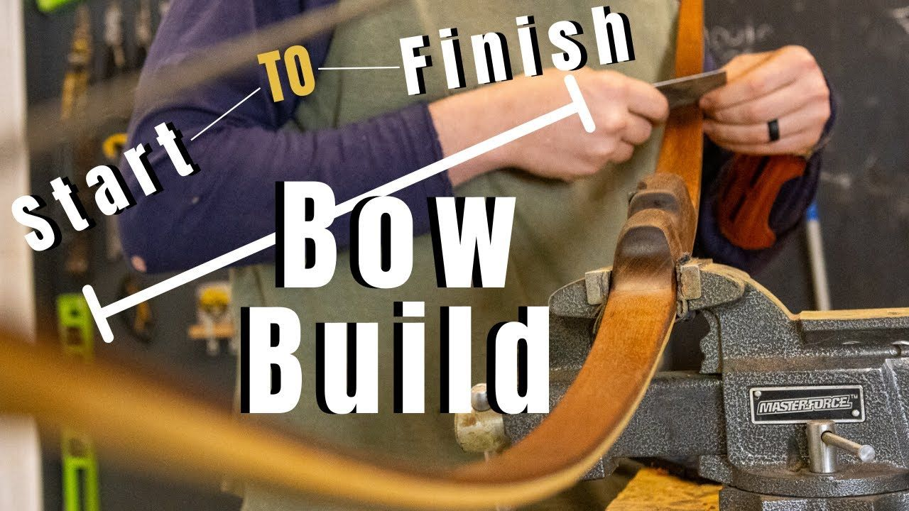 Making A Laminated Bow In Silence In 2020 Bows How To Make Silence