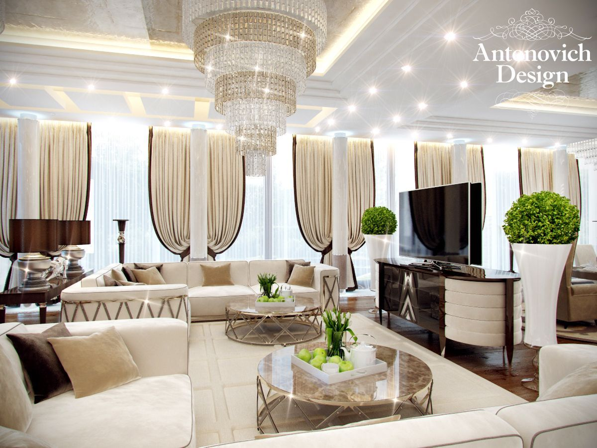 Pin by Luxury Antonovich Design on Living Rooms - Comfort and Luxury ...