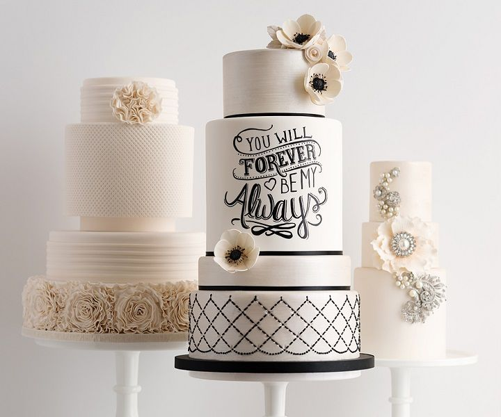 unique and contemporary wedding cakes #weddingcake #cakes #wedding #weddingphotos #weddinginspiration
