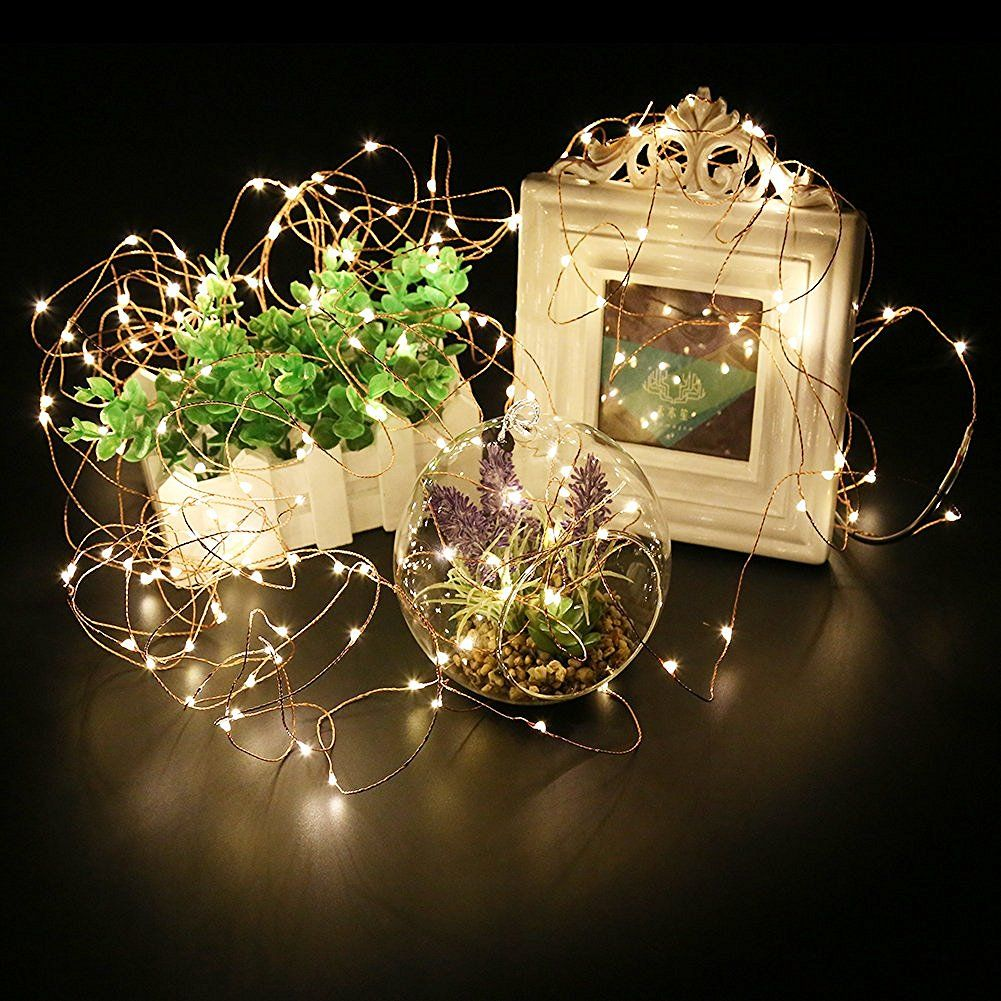 Fairy Lights Battery Operated for Bedroom Indoor Outdoor