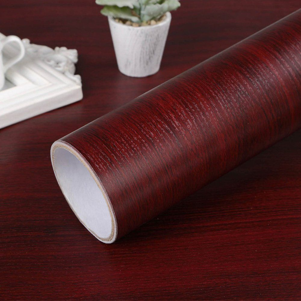 Self Adhesive Mahogany Wood Grain