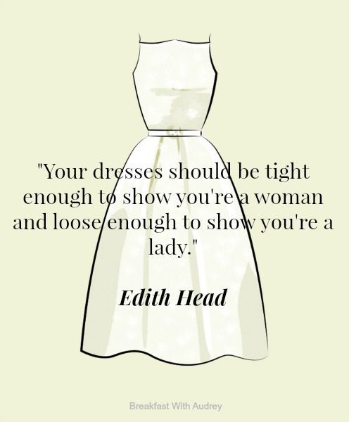 The 17 Best Style Quotes Of All Time \u2022 Breakfast with Audrey
