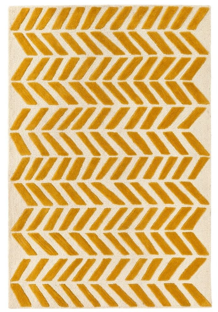 Yellow Chevron Rug With Images Chevron Rugs Rugs