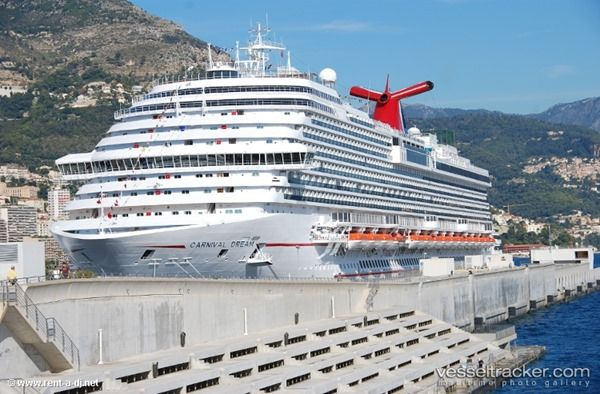 Carnival-Dream-Monaco - we enjoyed our honeymoon on the 3rd voyage of the Dream in the Med..it is an amazing ship. Love the walk around deck.
