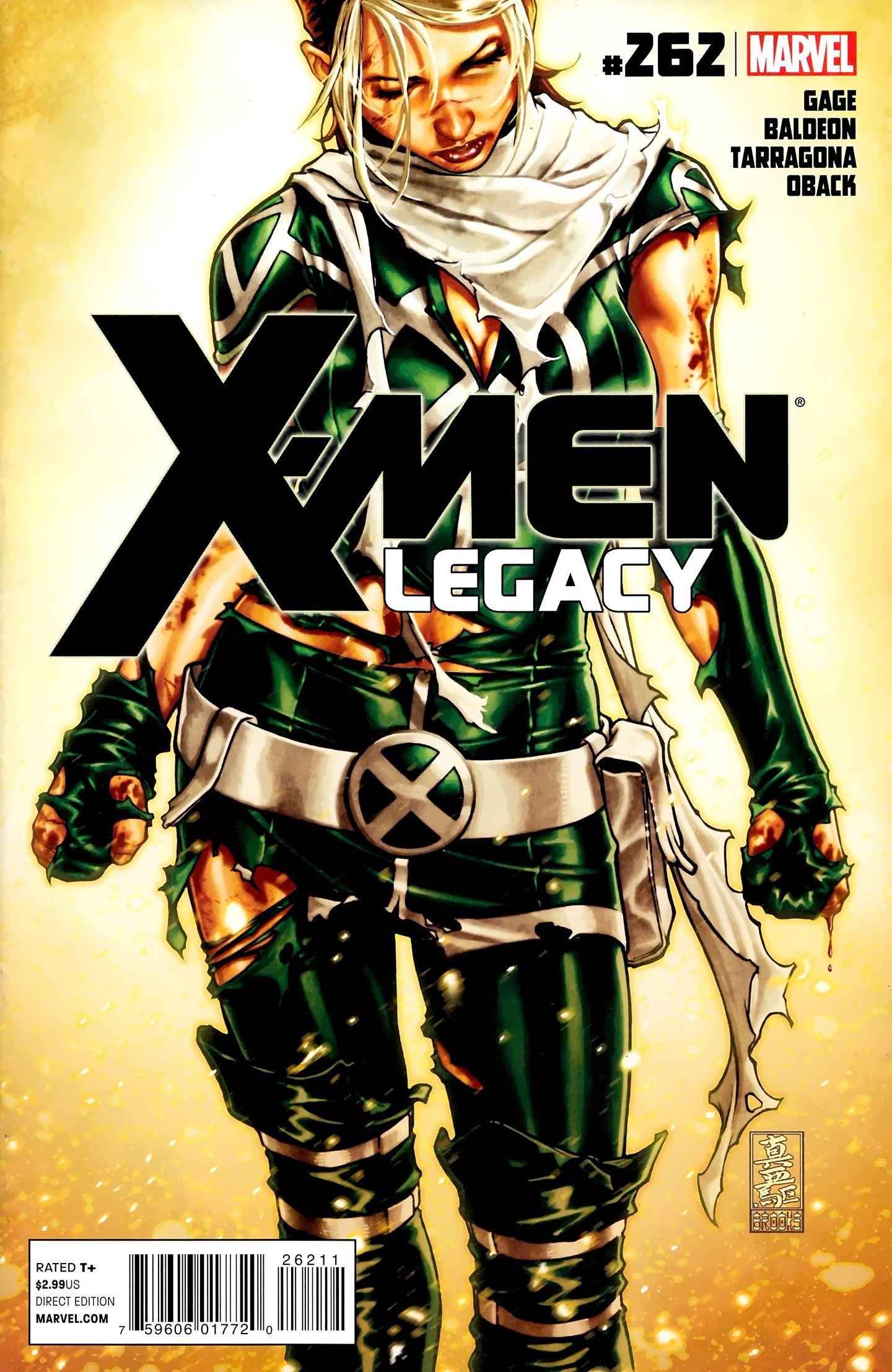 X Men Legacy Vol 1 262 Cover Art By Mark Brooks Marvel Rogue Comics Girls