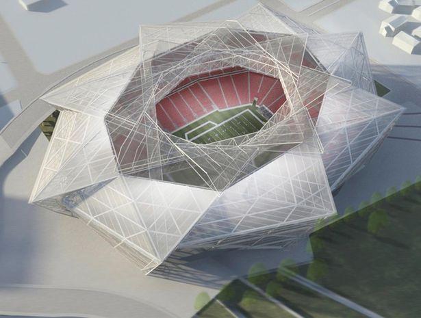 Signature Nfl Stadiums Stadium Design Stadium Architecture Atlanta Falcons Stadium