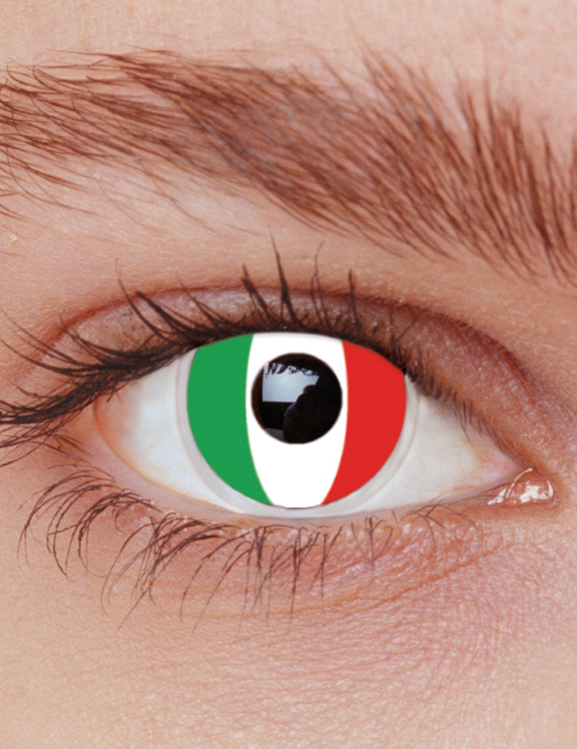 Pin Su Green Contact Lenses