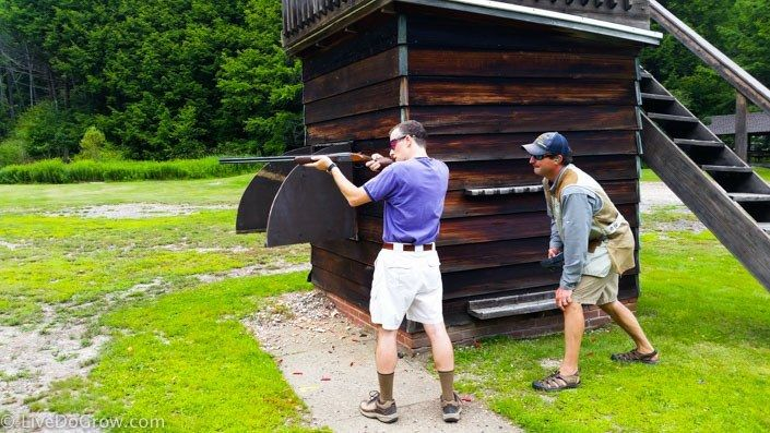 Skeet Shooting At The Lodge At Glendorn Shooting Pinterest