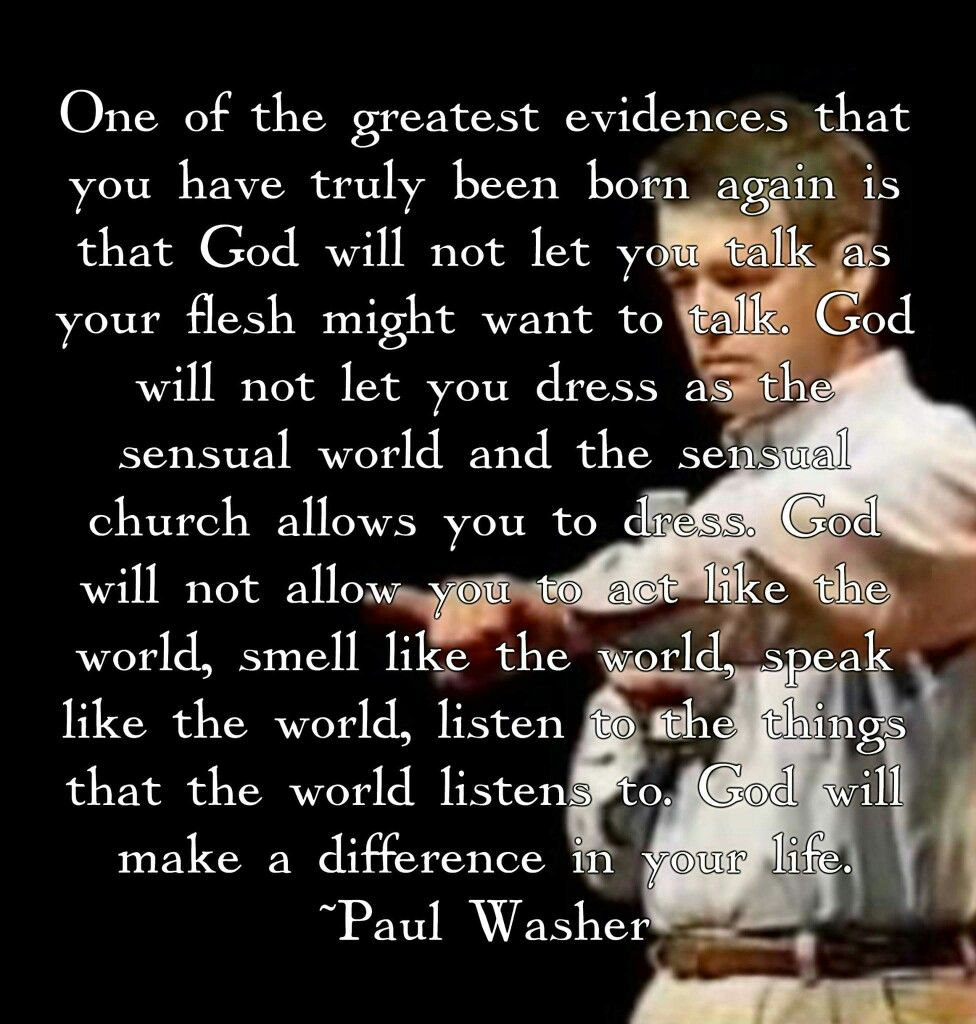 Christian dating paul washer