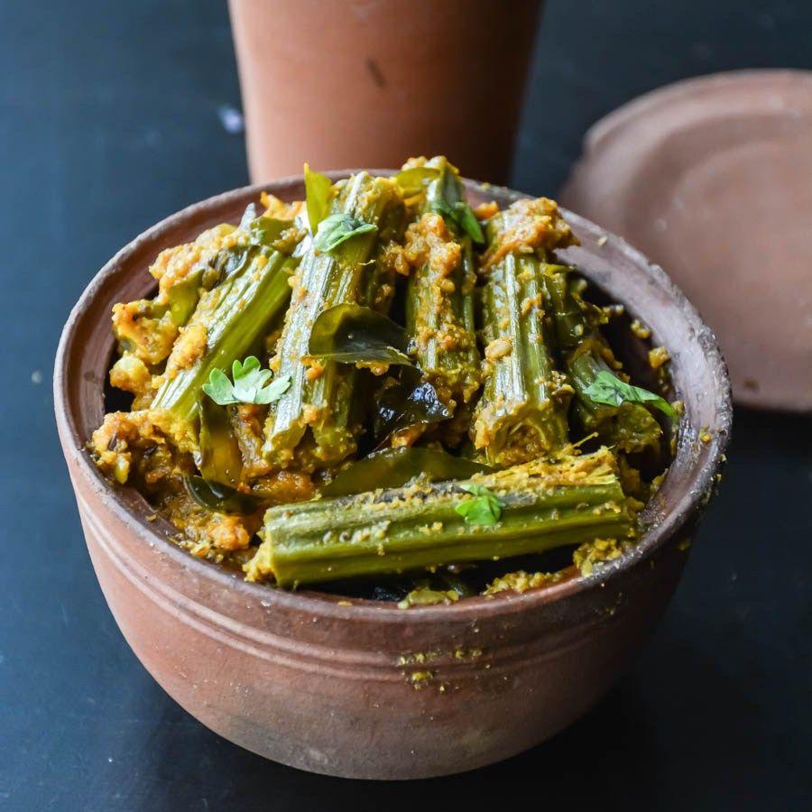 Drumstick Masala Murungakkai Masala Drumstick Recipes Spicy Recipes Indian Vegetarian Dishes