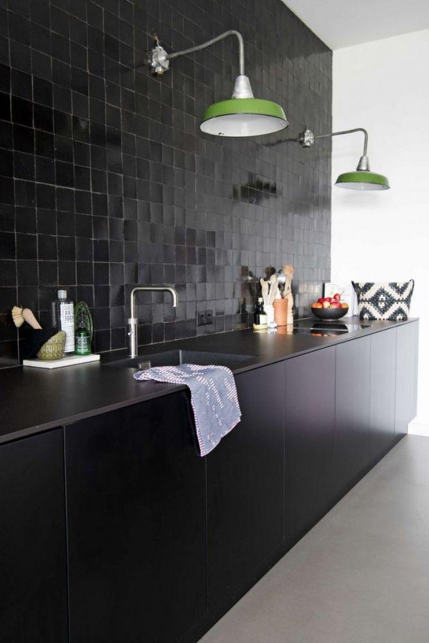 Innenarchitektur Kleine Mat Zwarte Keuken 25 Beste Ideen Over Zwarte Keukens Op Pinterest Witte Marmeren Mat Zwar Interieurontwerp Keuken Keuken Keuken Zwart