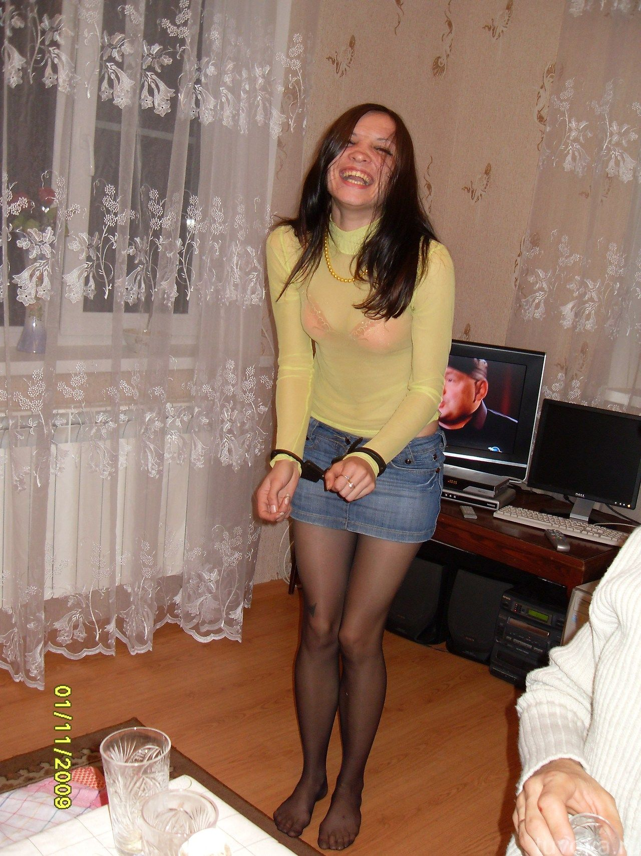 Dress Pantyhose Foreplay