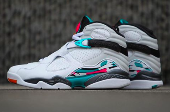What Would You Rate The Air Jordan 8 South Beach  Fall is already here but 3e377ddcd