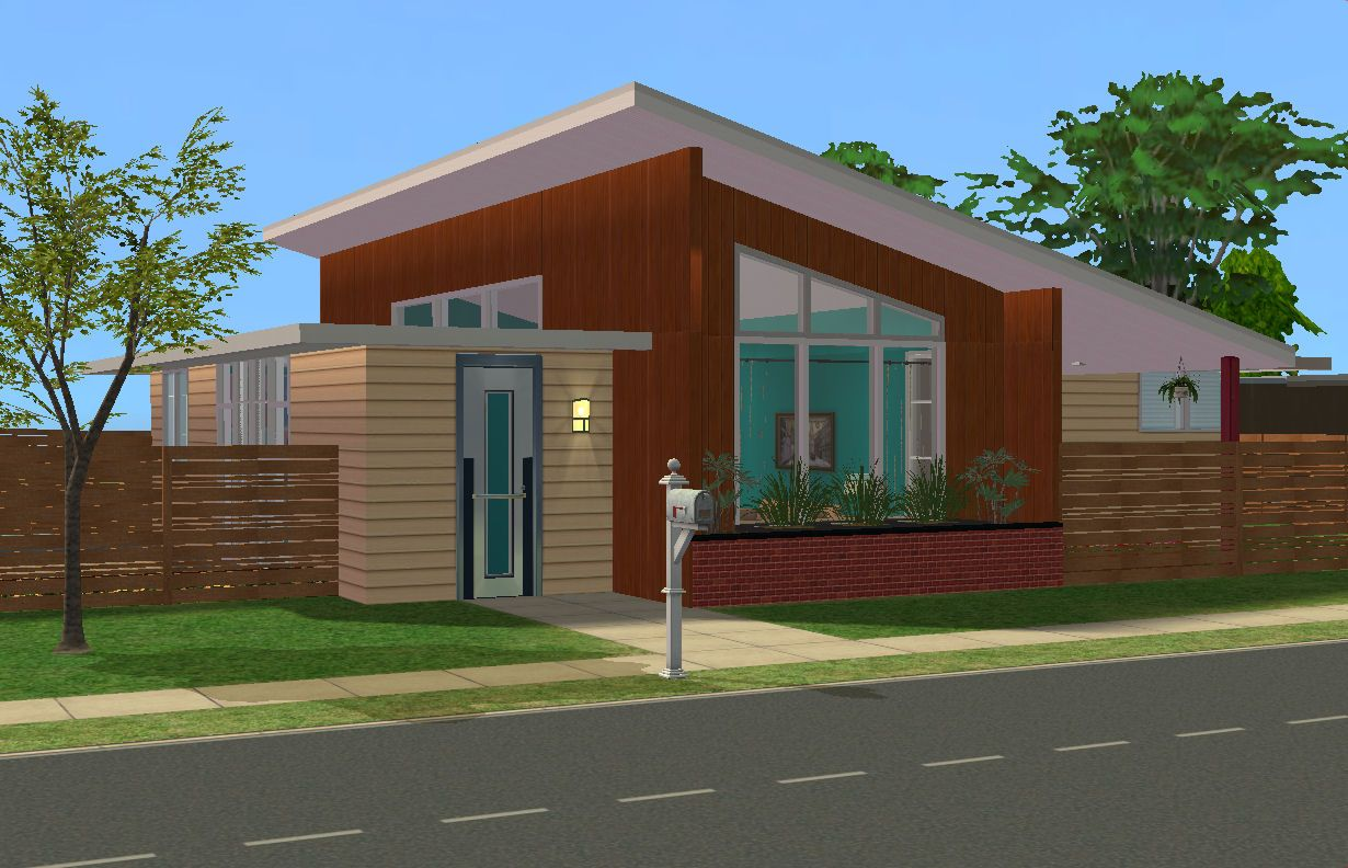Mod The Sims - 1952 Mid Century Modern: The Belville | TS2