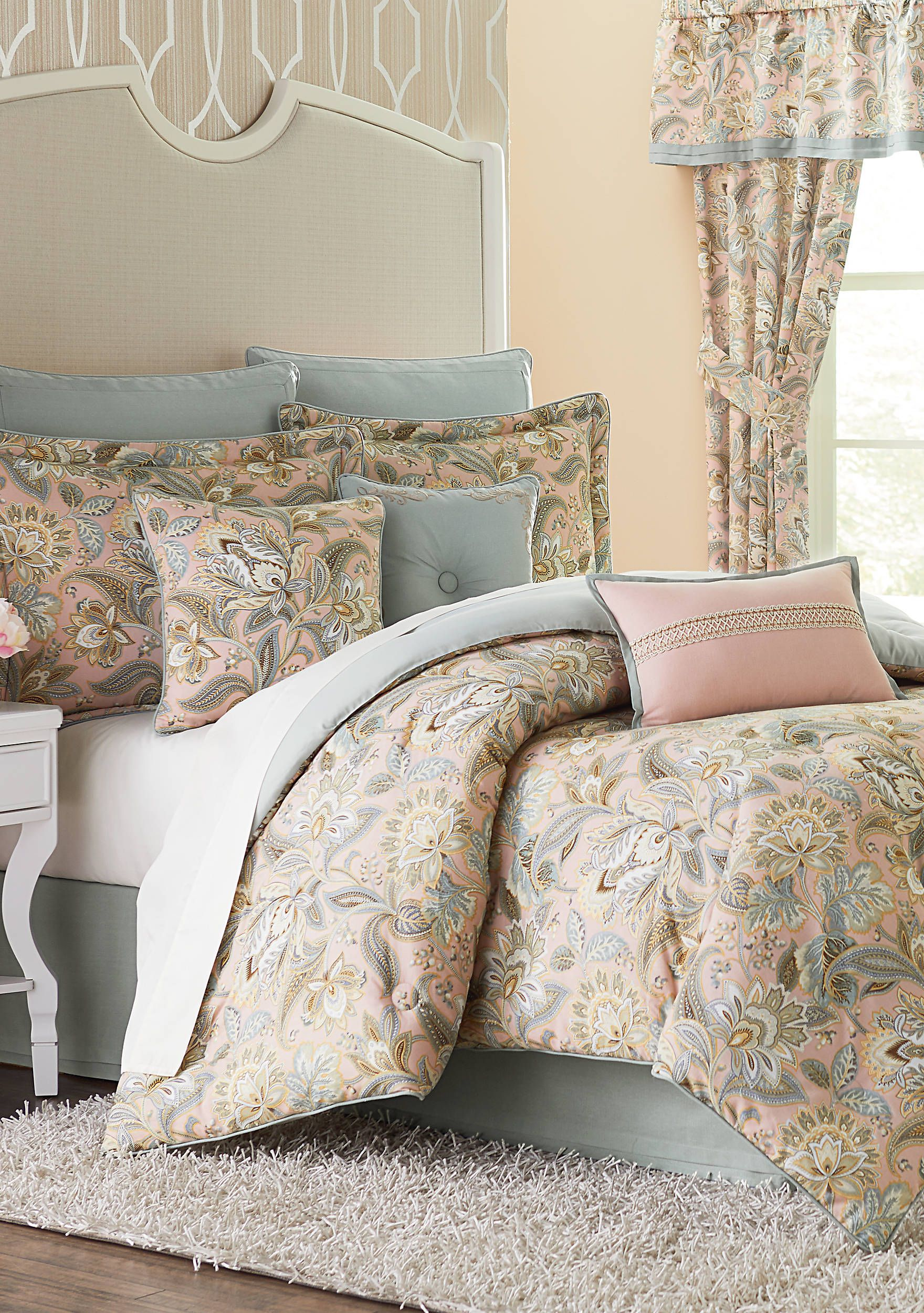 Comforter Sets With Curtains Biltmore Natalie Comforter Set In 2019 Home Decor Comforter