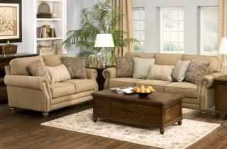 Ashley Furniture Prelude Champagne Sofa At Big Sandy Superstore