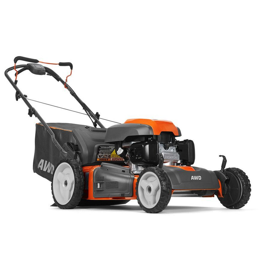 Husqvarna Hu800Awdh 190cc 22-in Self-Propelled All-Wheel Drive Residential Gas Push Lawn Mower ...